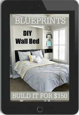 DIY Murphy Bed - Build your own wall bed for $150