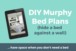 DIY Murphy Bed - Build your own wall bed for under $200!