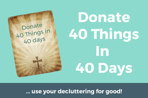 Donate 40 things in 40 days