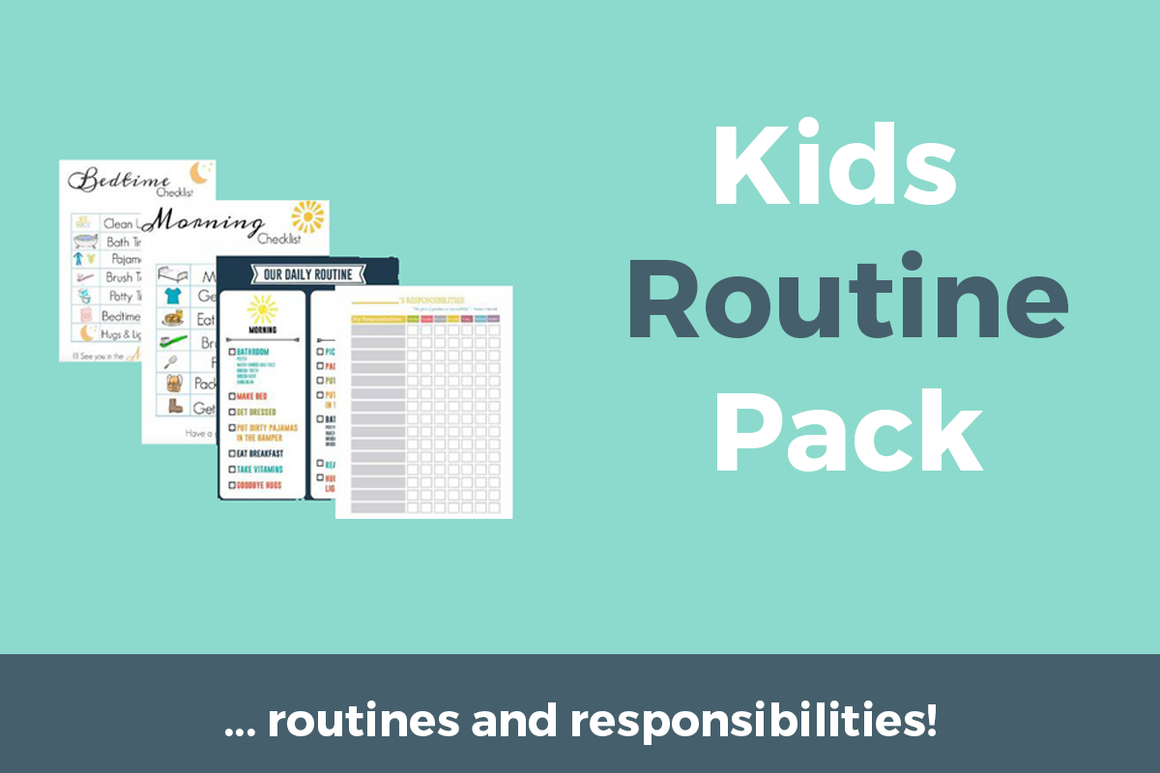 Kids Routine Printable Pack