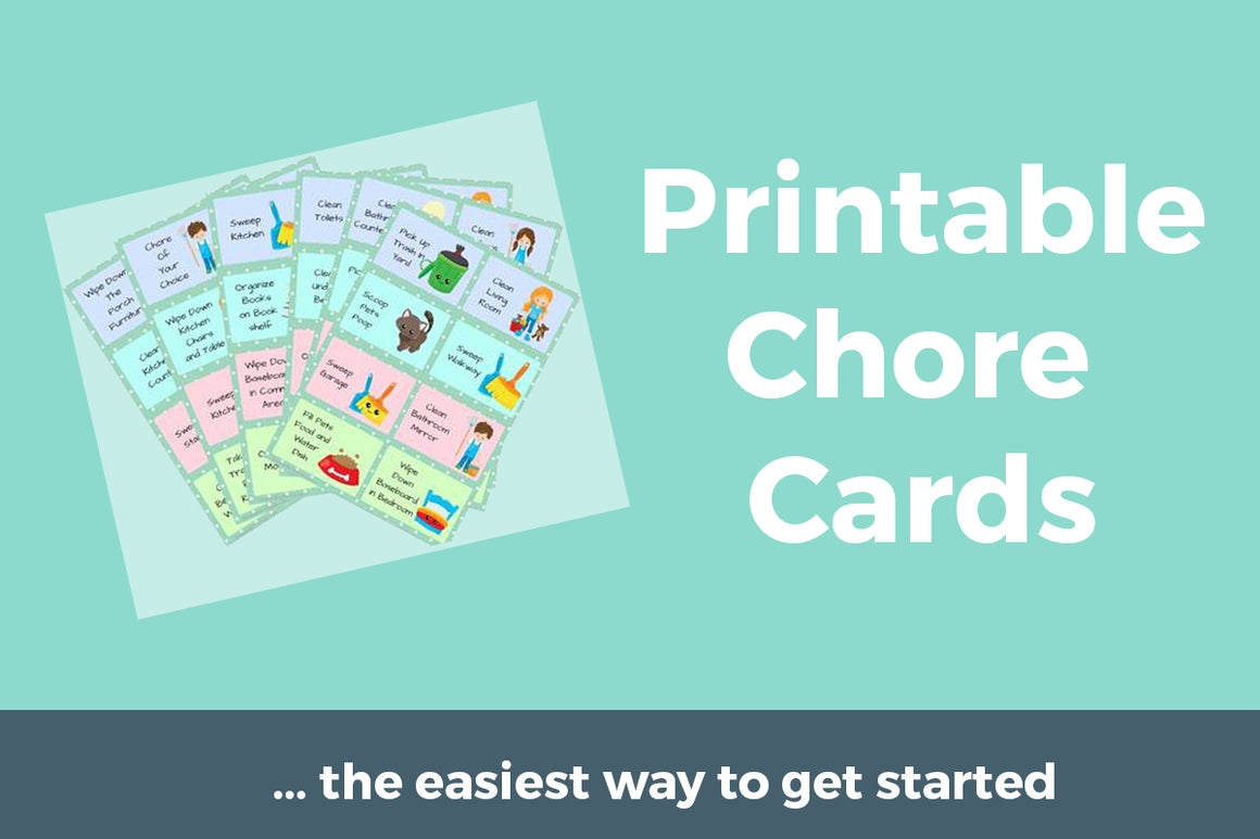 photograph regarding Printable Chore Cards identified as Turning out to be Well prepared For Kindergarten