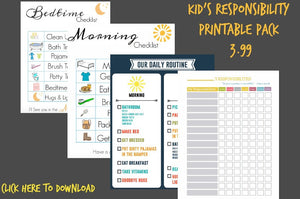 Kids Printable Pack