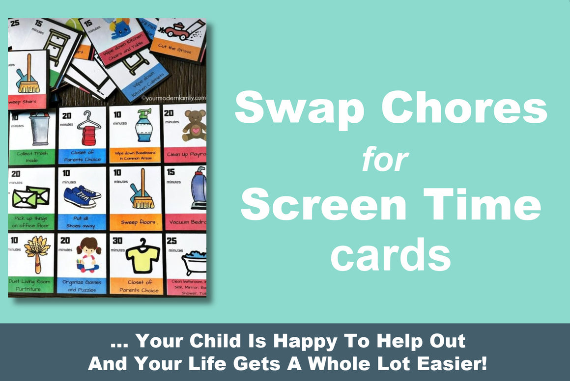 Swap Chores For Screentime