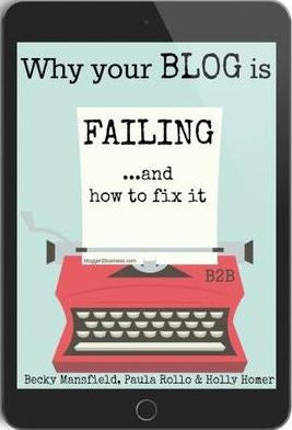 Why Your Blog is Failing...and How to Fix it