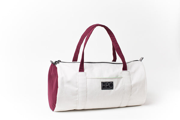 Earth Bag Lite, Natural/Burgundy