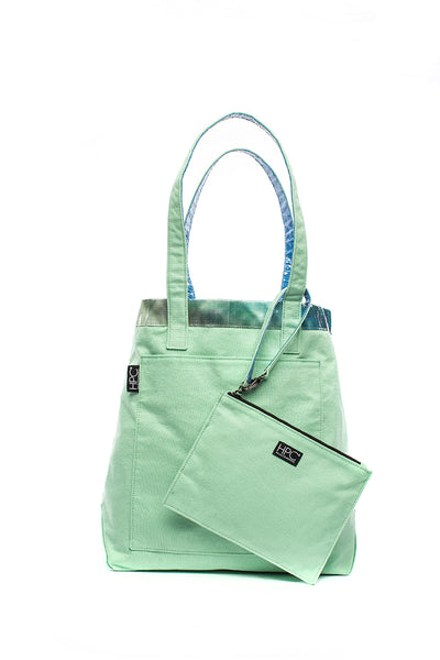 Earth Tote [Reversible], Seafoam Green (Coming Soon)