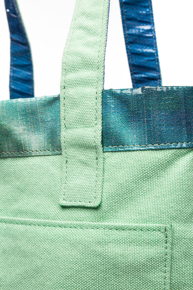 Earth Tote [Reversible], Seafoam Green - Hamilton Perkins Collection