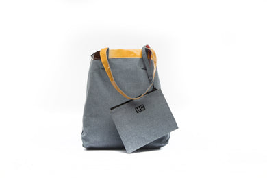 Earth Tote [Reversible], Carolina Blue