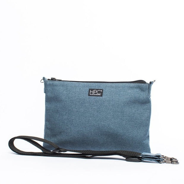 Earth Bag Crossbody, Navy - Hamilton Perkins Collection
