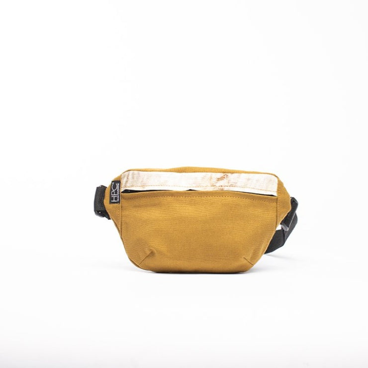 Mustard - Recycled Plastic Water PET Bottles - Recycled - Fanny Pack - Hamilton Perkins Collection - Billboard Vinyl - Front - Sustainability