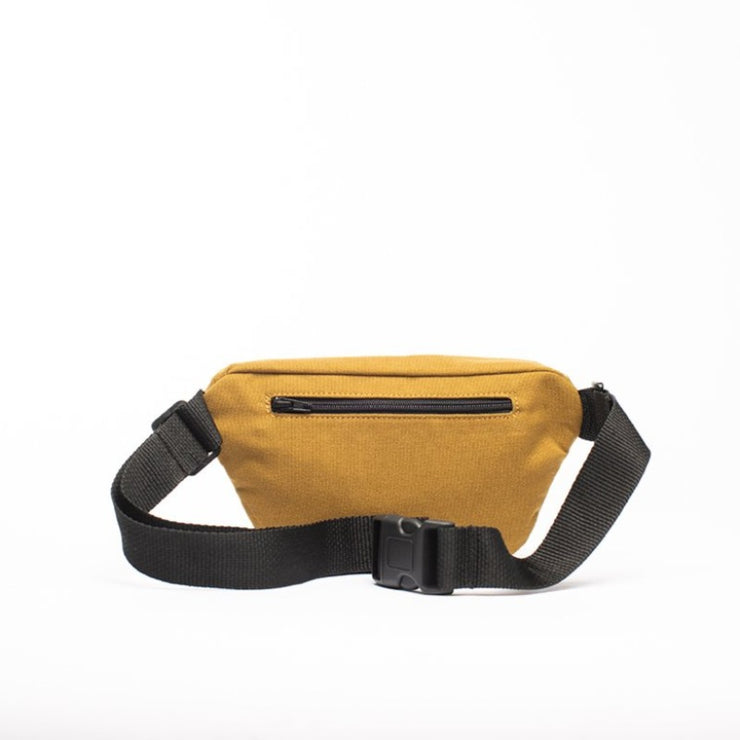 Mustard - Recycled Plastic Water PET Bottles - Recycled - Fanny Pack - Hamilton Perkins Collection - Billboard Vinyl - Rear - Sustainability