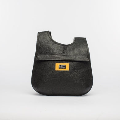 Earth Bag Slim, Black Pineapple