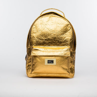 Earth Bag Standard, Gold Pineapple - Hamilton Perkins Collection