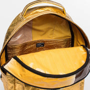 Gold - Pinatex - Pineapple - Backpack - Hamilton Perkins Collection - Earth Bag Standard - Inside - Sustainability