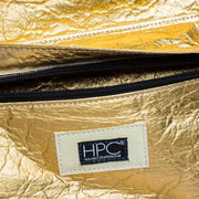 Gold - Pinatex - Pineapple - Backpack - Hamilton Perkins Collection - Earth Bag Standard - Close Up