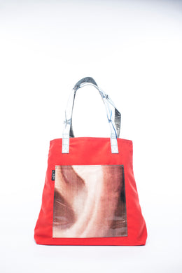 Earth Tote, Red - Hamilton Perkins Collection