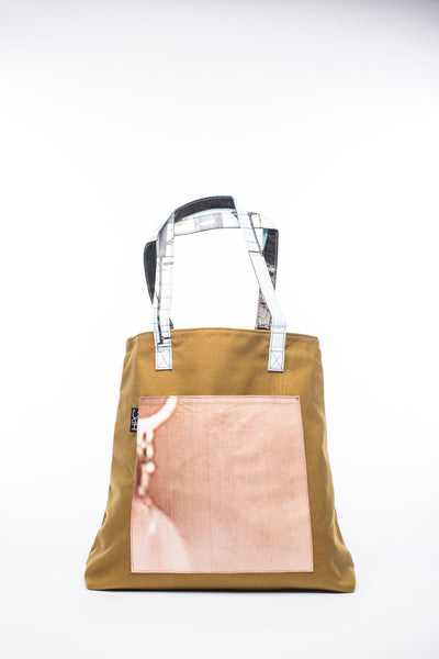 Earth Tote, Mustard - Hamilton Perkins Collection