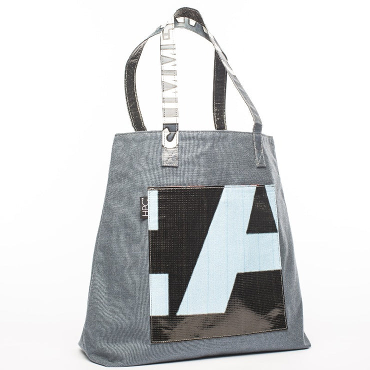 Earth Tote, Navy - Hamilton Perkins Collection