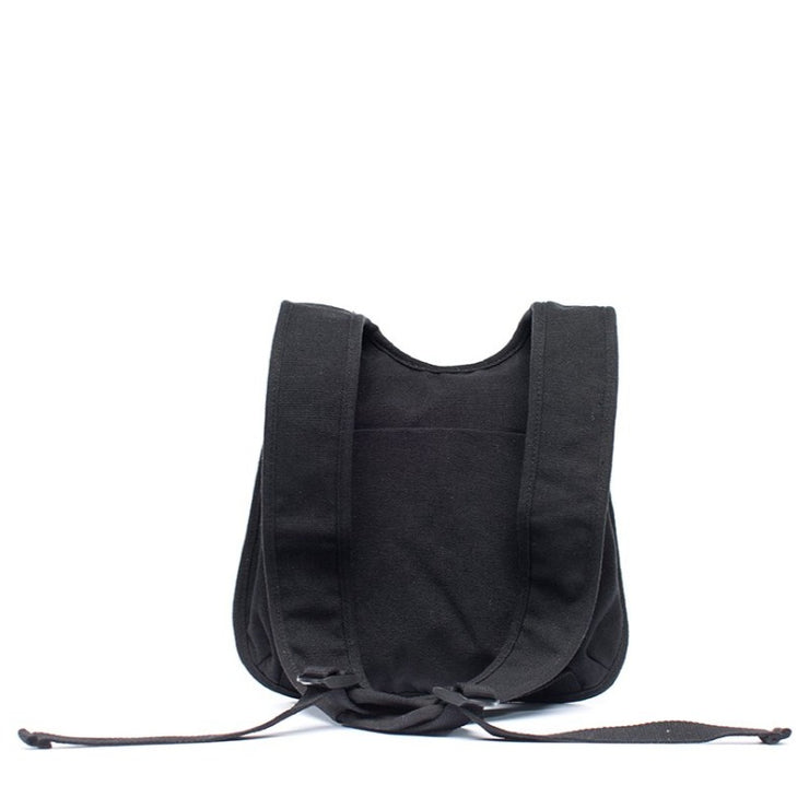 Earth Bag Slim, Black (Recycled Plastic Bottle Series)