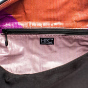 Black - Recycled Plastic Water PET Bottles - Recycled -Duffel Bag - Hamilton Perkins Collection - Inside Zipper - Sustainability