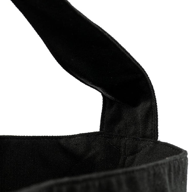 Black - Recycled Plastic Water PET Bottles - Recycled - Hobo - Hamilton Perkins Collection - Earth Bag Hobo - Close Up - Sustainability