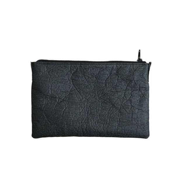 Earth Bag Crossbody, Black Pineapple