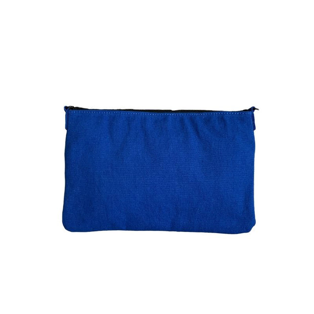 Earth Bag Crossbody, Classic Blue (Recycled Plastic Bottle Series)