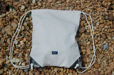 Earth Bag Drawstring, Natural - Hamilton Perkins Collection