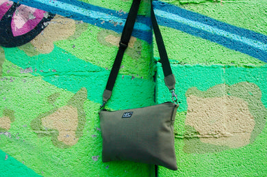 Earth Bag Crossbody, Green - Hamilton Perkins Collection