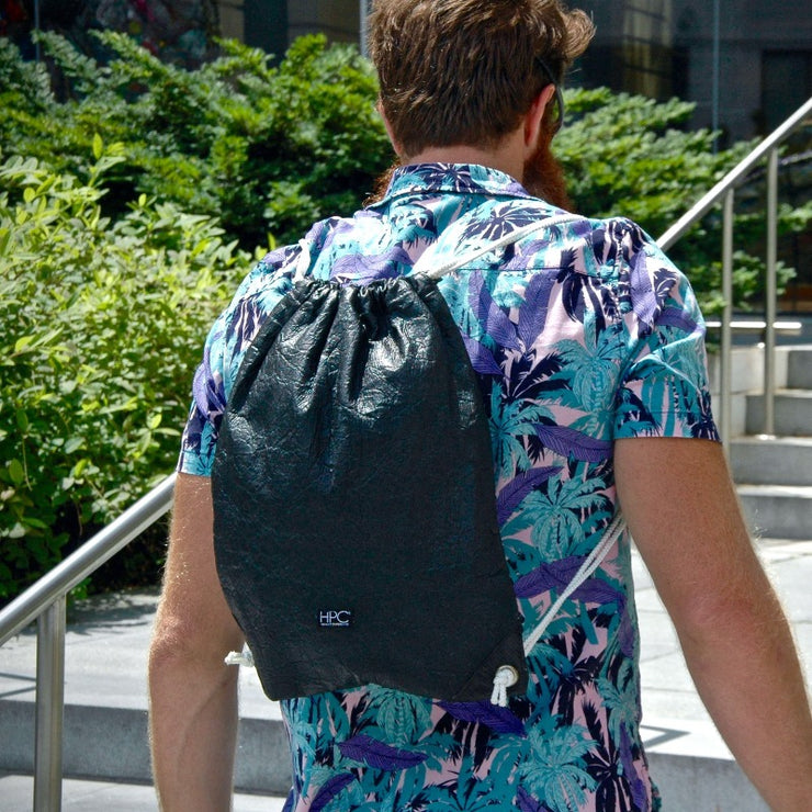 Slover Library Lifestyle Hamilton Perkins Collection Pinatex Pineapple Backpack