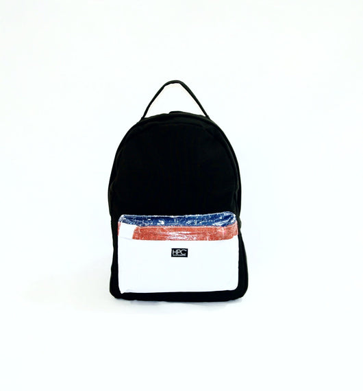 Earth Bag Standard, Black + Billboard Pocket (Light Billboard Series) - Hamilton Perkins Collection