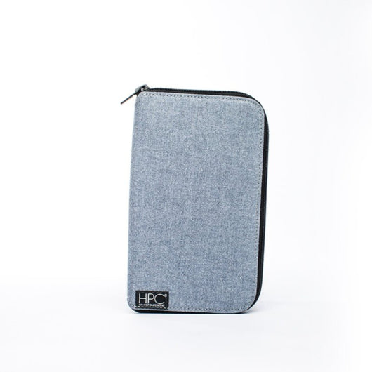Earth Wallet Travel Edition, Carolina Blue