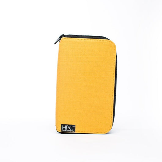 Earth Wallet Travel Edition, Yellow - Hamilton Perkins Collection