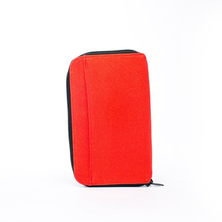 Earth Wallet Travel Edition, Red - Hamilton Perkins Collection
