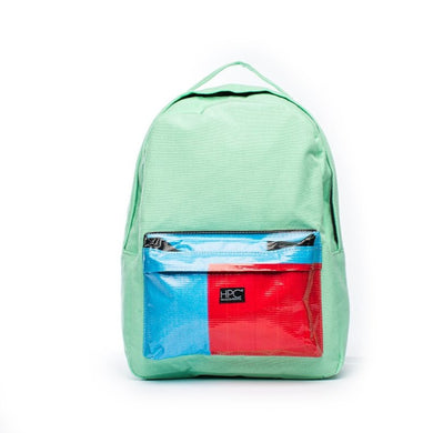 Earth Bag Standard, Seafoam Green + Billboard Pocket
