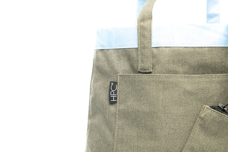 Earth Tote [Reversible], Olive - Hamilton Perkins Collection