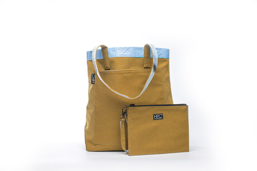 Earth Tote [Reversible], Mustard