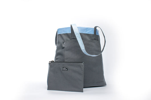 Earth Tote [Reversible], Smoke Gray