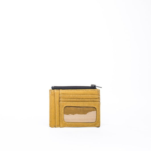 Earth Wallet ID Edition, Mustard - Hamilton Perkins Collection