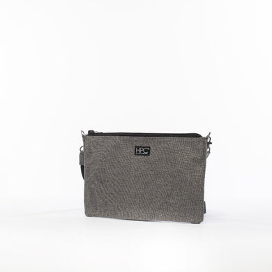 Earth Bag Crossbody, Gray