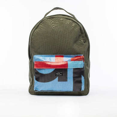 Earth Bag Standard, Green + Billboard Pocket