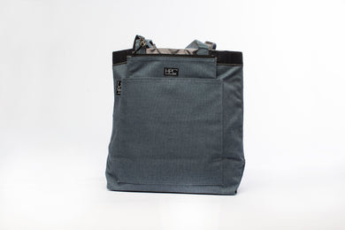Earth Tote [Reversible], Navy - Hamilton Perkins Collection