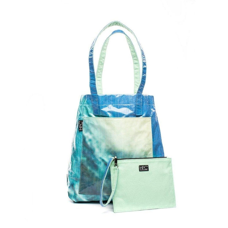 Earth Tote [Reversible], Seafoam Green
