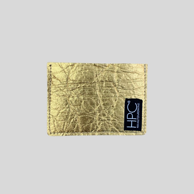 Earth Cardholder, Gold Pineapple (Limited Edition)