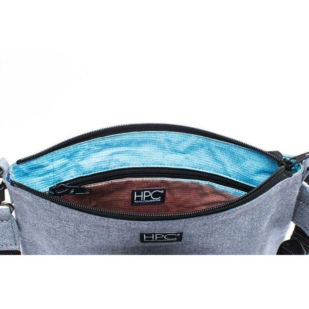 Earth Bag Crossbody, Carolina Blue