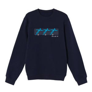 "Tens Club ""CLIPART"" Sweatshirt - Navy"