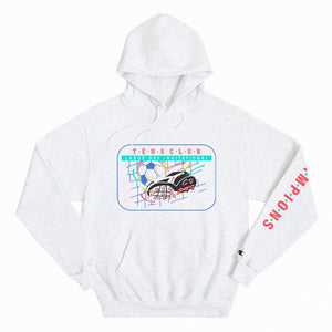 "Tens Club ""Champions"" Hooded Sweatshirt"
