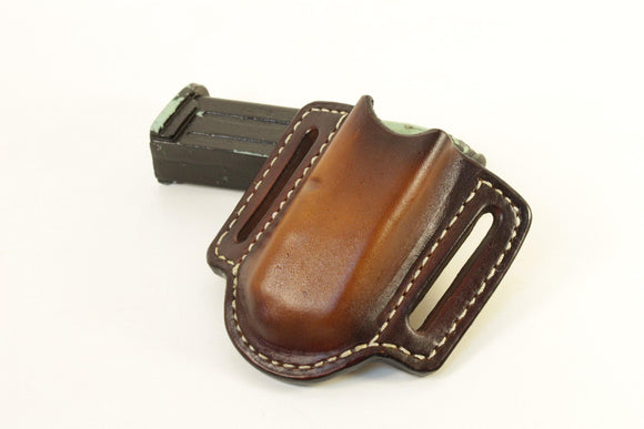 Leather Magazine Holder - Black Swamp Leather Company
