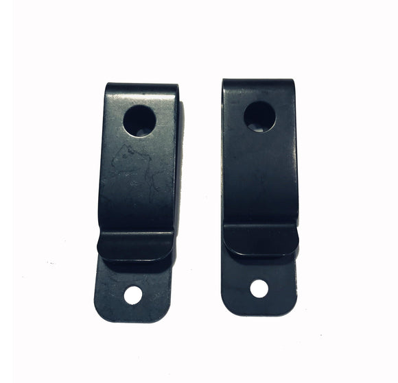 Metal Open Belt Loop (pair)