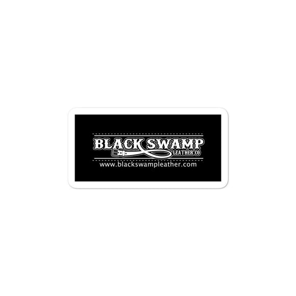 Bubble-free stickers - Black Swamp Leather Company